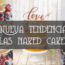 Nueva tendencia: naked cakes