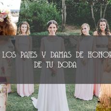 portada Life Flows Blog pajes y damas de honor